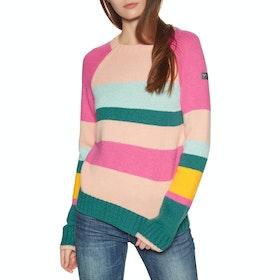 Roxy Cozy Sound Womens Sweater - North Sea Pop Snow