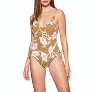 Roxy Beach Classic One Womens Swimsuit