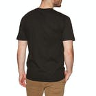 Huf Woodstock Box Logo Short Sleeve T-Shirt