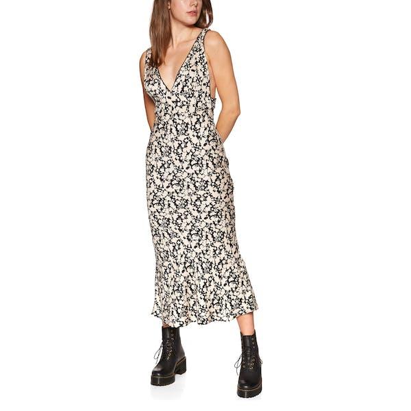 Free People Ohh La La Bias Midi Dress