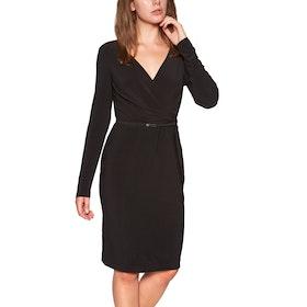 Lauren Ralph Lauren Alexie Long Sleeveday Dress - Black