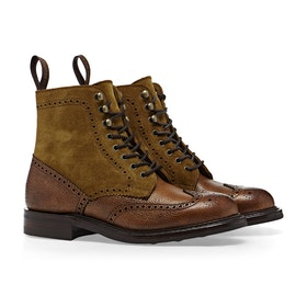 Buty Cheaney Made In England Amelia - Almond Grain With Maracca Suede