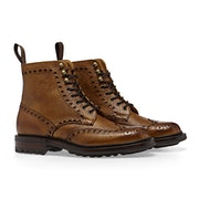 Cheaney Made in England Tweed C , Country Boots Mäns