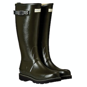 Hunter Balmoral II Poly Lined Ladies Wellington Boots - Dark Olive