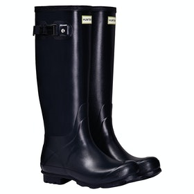 Hunter Norris Field Ladies Wellingtons - Navy