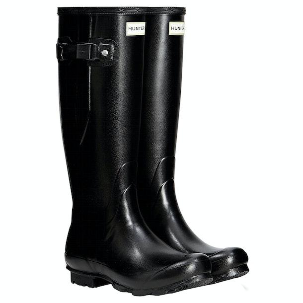 Hunter Norris Field Side Adjustable Ladies Wellington Boots