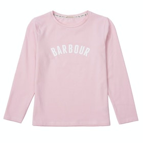 Barbour Clair Girls Long Sleeve T-Shirt - Rose