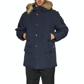Carhartt Anchorage Parka Modejakke - Dark Navy Black