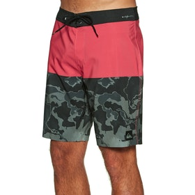 Quiksilver Highline division deluxe 19 Boardshorts - Hibiscus