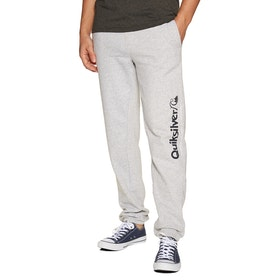 Quiksilver Track Jogging Pants - Light Grey Heather