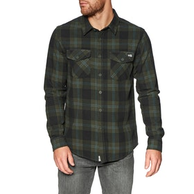 Salty Crew Inshore Flannel Shirt - Olive