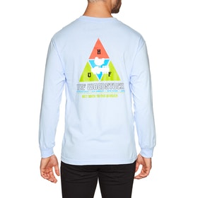 T-Shirt à Manche Longue Huf Woodstock Peaking - Powder Blue