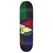 Plataforma de patinete Santa Cruz Dot Blocker Hard Rock Maple 8 Inch