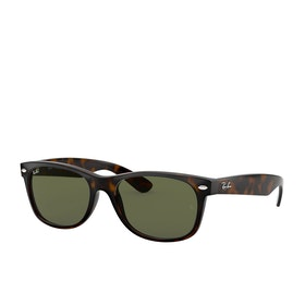 Ray-Ban New Wayfarer Sunglasses - Tortoise~crystal Green