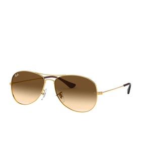 Ray-Ban Cockpit Sunglasses - Arista~crystal Brown Gradient