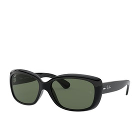 Ray-Ban Jackie Ohh Sunglasses - Black~green