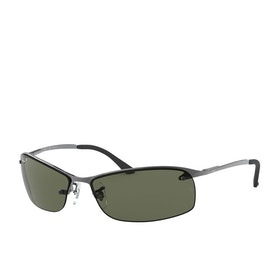 Ray-Ban RB3183 Sunglasses - Gunmetal~polar Green