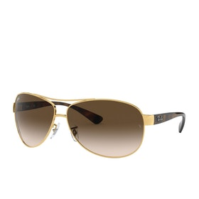 Ray-Ban Rb3386 Sunglasses - Arista~brown Gradient