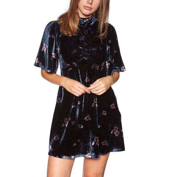 Free People Be My Baby Mini Kleid