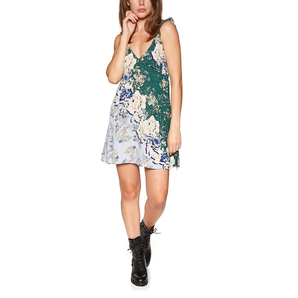 Abito Free People Lauria Printed Mini