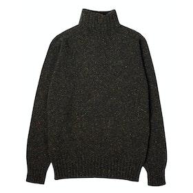 Kestin Evans Roll Neck Sweater - Dark Forest