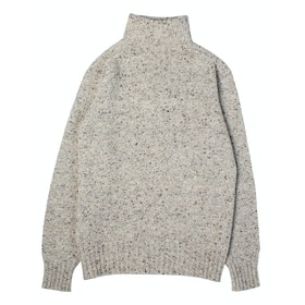 Kestin Evans Roll Neck Sweater - Porridge
