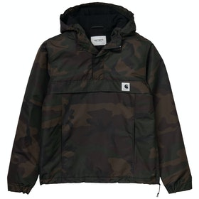 Carhartt Nimbus Pullover Ladies Jacket - Camo Evergreen