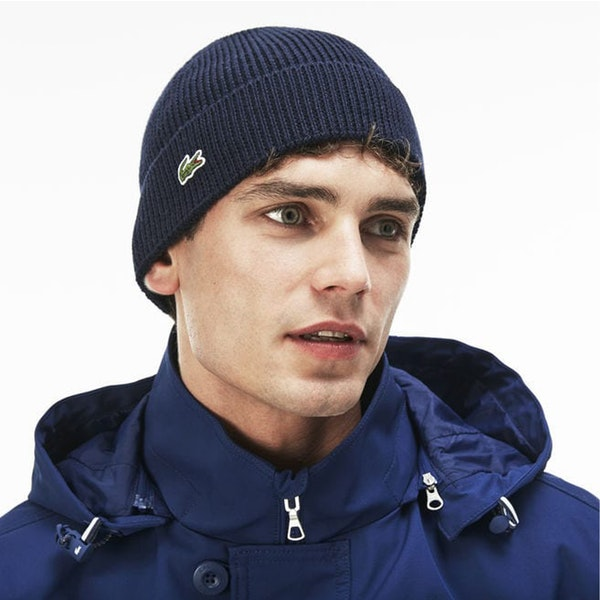 Lacoste Knitted Beanie Men's Hat