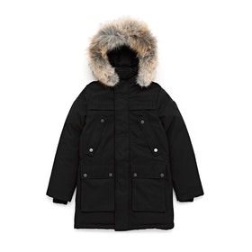 Пуховая куртка Nobis Little Yatesy Parka - Black