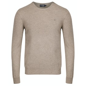 Hackett Lambswool Crew Knits - String