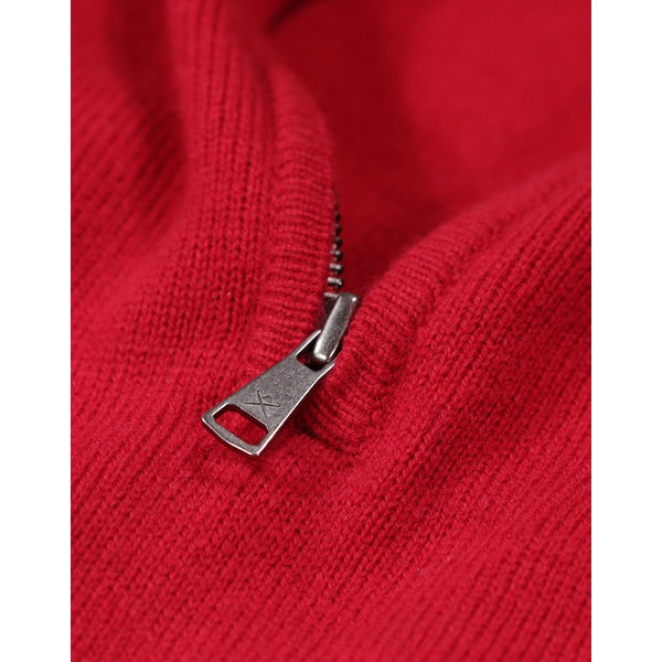 Hackett Lambswool Zip Sweater