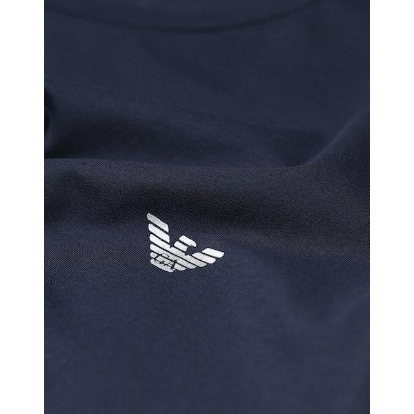 Emporio Armani Stretch Cotton Knit Piżama