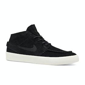 Chaussures Nike SB Janoski Mid Ultra Crafted - Black/black-pale Ivory