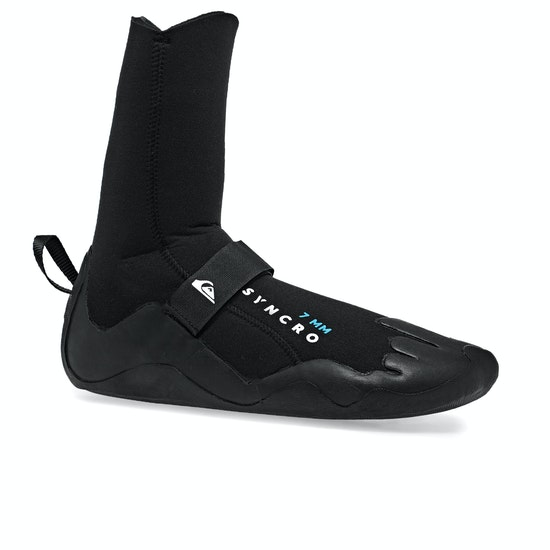 Quiksilver Syncro 7mm Round Toe Wetsuit Boots
