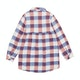 Animal Checka Shirt Girls Dress