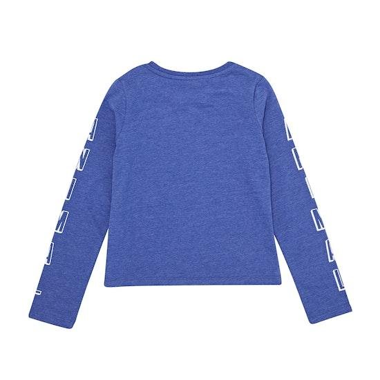 Animal Lapiz Girls Long Sleeve T-Shirt
