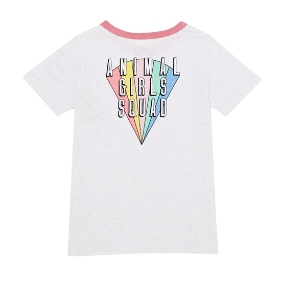 Animal Missy Deluxe Graphic Girls Short Sleeve T-Shirt