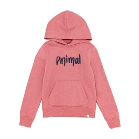 Pullover à Capuche Animal Rachelle Hoodie - Slate Rose Pink Marl