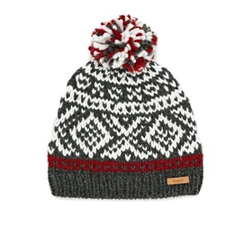 Gorro Barts Log Cabin - Dark Heather