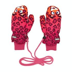 Barts Nylon Mitts Kinder Ski-Handschuhe - Leopard Orange