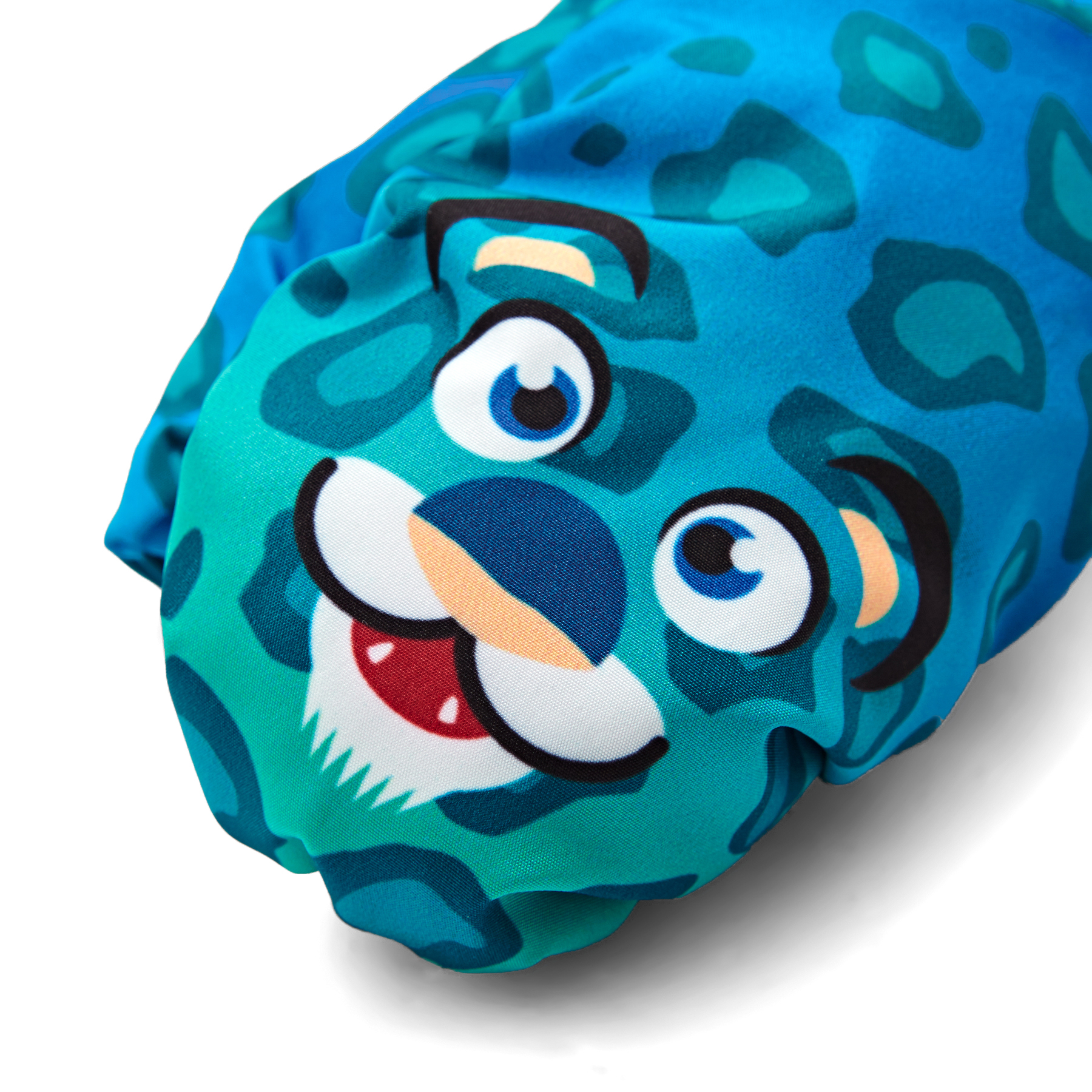 Barts Children/'s Gloves Mittens Water-Resistant Nylon Mitts Leopard Blue New