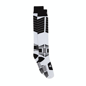 Chaussettes de Neige Thirty Two Asi Bamboo Team - White Light Grey