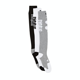 Thirty Two Cutout Classic 3 Pack Snow Socks - Assorted