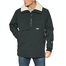 FW Root Anorak Waterproof Jacket - Slate Black