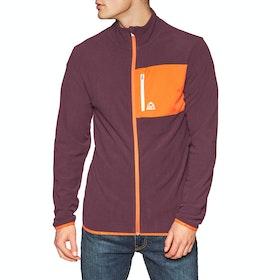 Bula Jacket Fleece - Burgnd