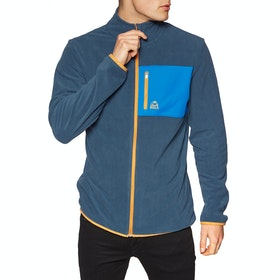 Bula Jacket Fleece - Denim