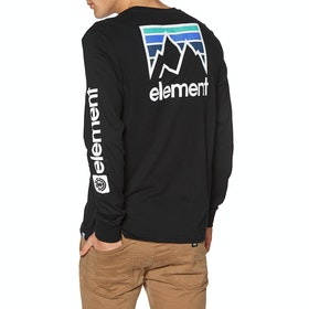 Element Joint 2019 Long Sleeve T-Shirt - Flint Black