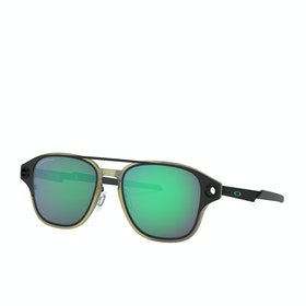Oakley Coldfuse Sunglasses - Matte Black ~ Prizm Jade Polarized