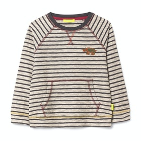 T-Shirt à Manche Longue White Stuff Matty Stripe - Grey St