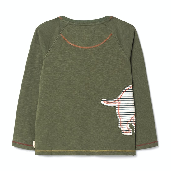 White Stuff Rhino Jersey Boys Long Sleeve T-Shirt